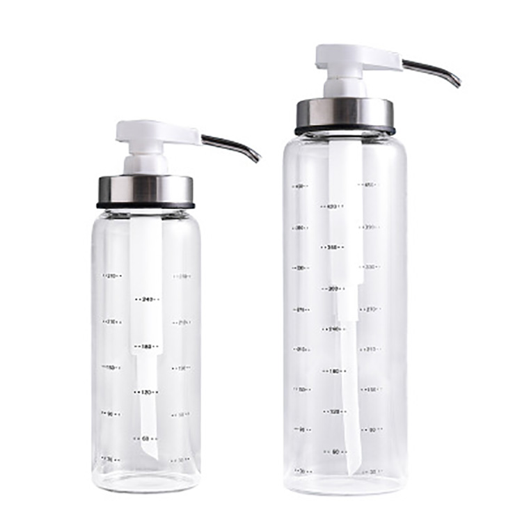 Bee Honey Jar Storage Bottles With Pump