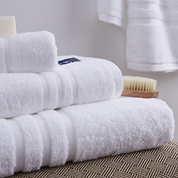 Luxury Hotel Cotton Plain White Bath Towel For Hotel And Home