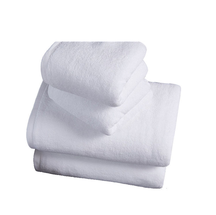 White Five Star Luxury 100% Cotton Face Towel
