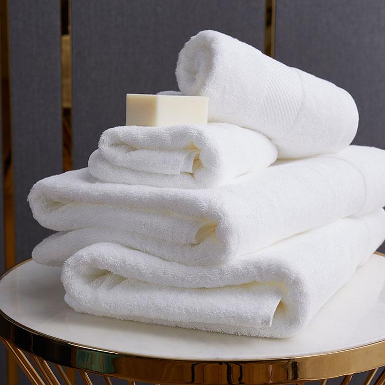 Comfortable White Cotton Towel