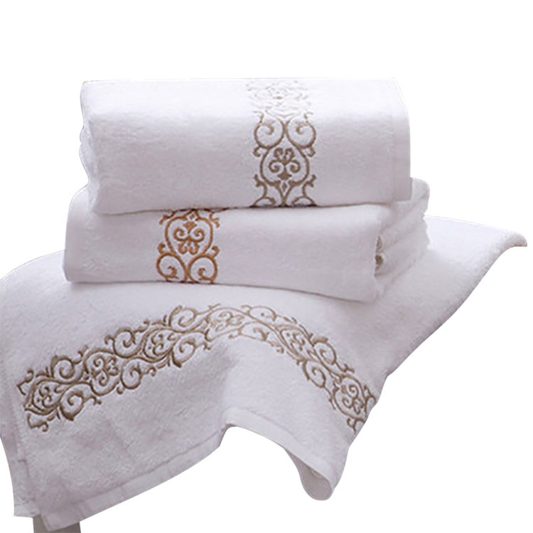 Embroidered Towel Made In China 100% Cotton