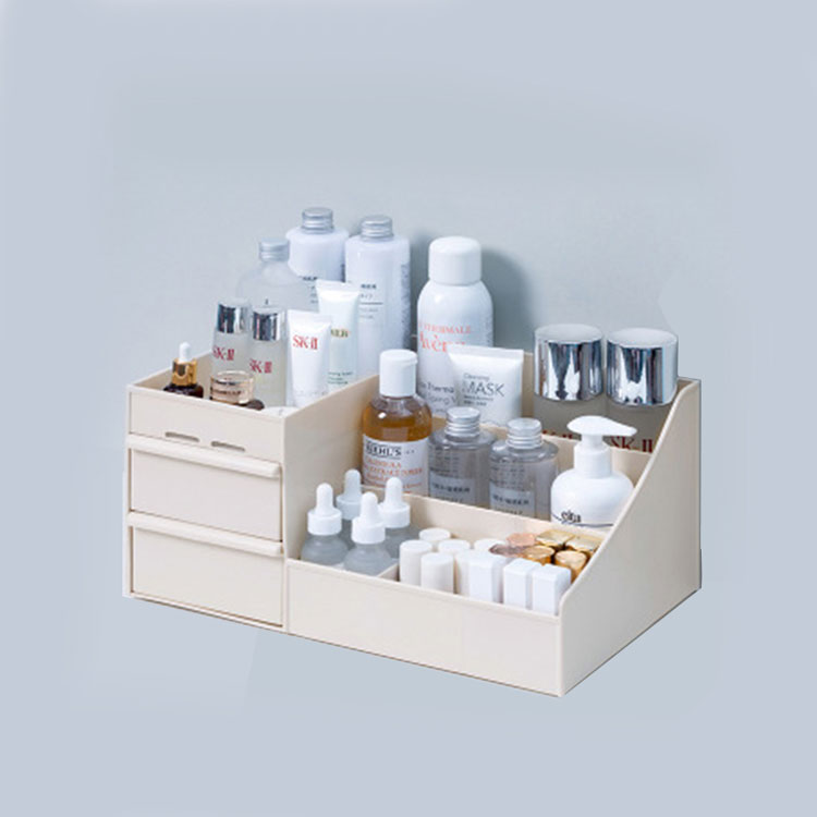 Plastic Large Capacity Makeup Storage Organizer Box