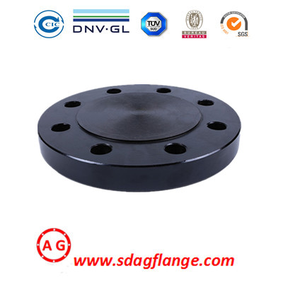 Galvanised Blank Flange PN16 To BS4504 Blind Flange