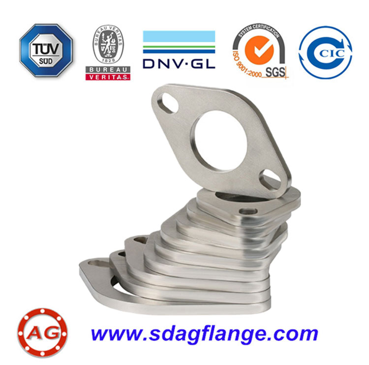 Oval ZINC Plated Flange