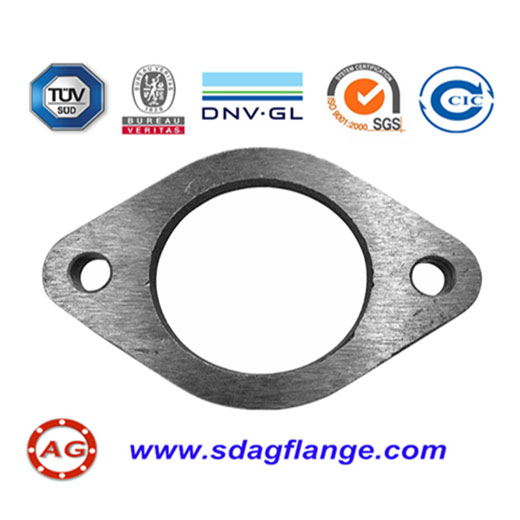 PN16 Carbon Steel Oval Flange