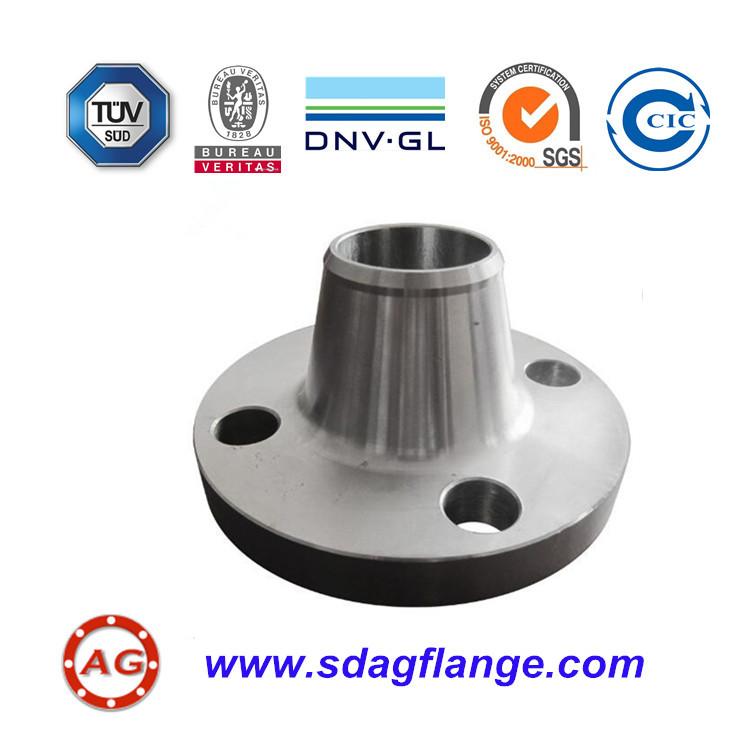 Dimensioni standard A105 Flangia WN per tubo da 2 pollici