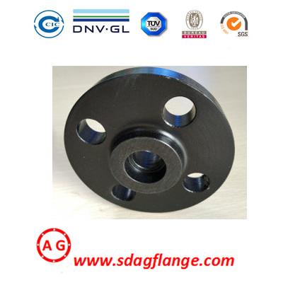 Flangia per tubi in acciaio SWRF Flangia a saldare DIN EN1092 per forgiatura