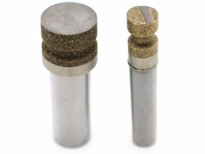Kepala pengisar berlian ikatan gangsa untuk pengisaran tepi kaca