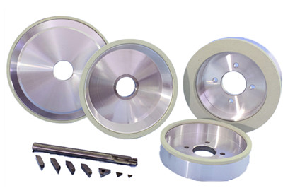 roda pengisar ikatan seramik untuk alat PCD