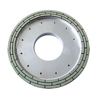 Roda berlian untuk mengisar sisi belakang wafer nilam silikon