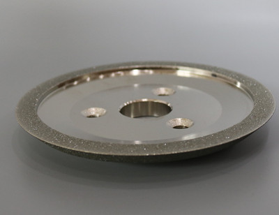 इलेक्ट्रोलेटेड थ्री-होल डायमंड व्हील