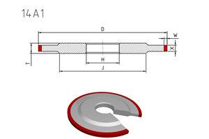 14a1 diamond wheel