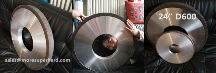 24 inch resin diamond grinding wheel for thermal spraying