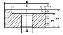 6A1 centerless grinding wheel