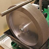 CBN grinding wheel for wood turning