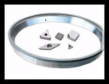 peripheral diamond wheel