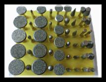 diamond mounted points, diamond burs