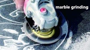 vacuum brazed diamond grinding disc for marble grinding