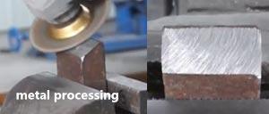 vacuum brazed diamond wheel for metal processing