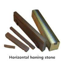 Horizontal honing stone, honing stick