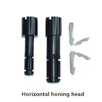 horizontal honing head