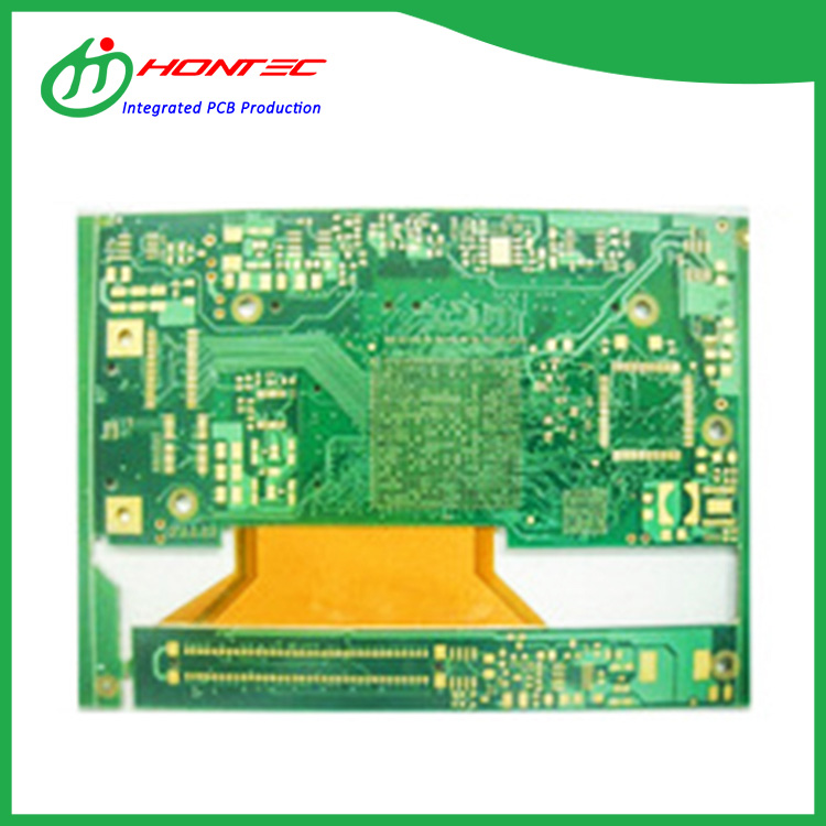 6 Schicht FR406 Rigid Flex PCB