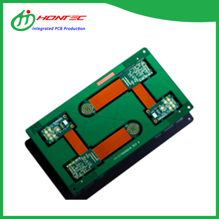 12 Layer 8R4F Rigid Flex Board