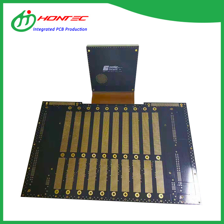 100-layer Rigid Flex PCB