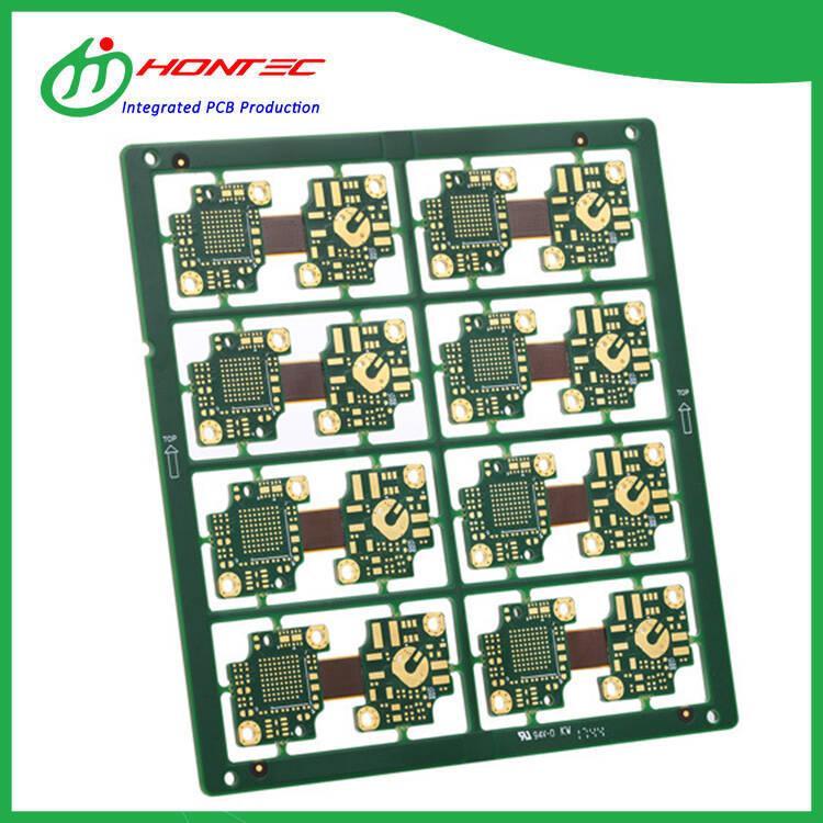 Circuit imprimé rigide Flex à 8 couches
