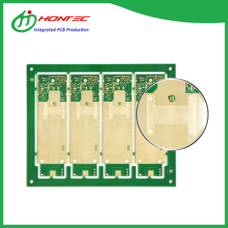 built-in Copper Coin PCB