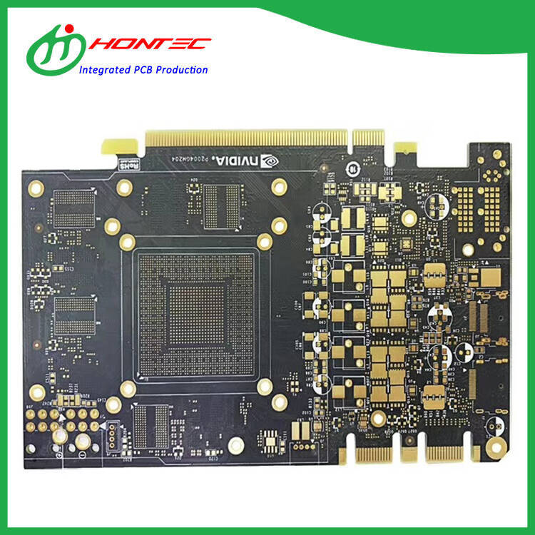 Step Gold finger PCB