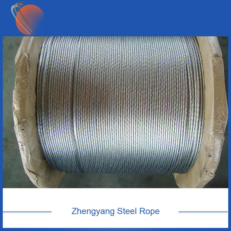 ASTM A475 Zinc Coated Steel Wire Strand
