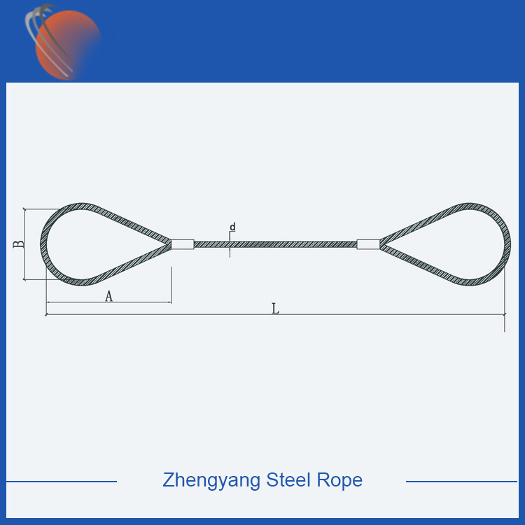 pressed wire rope slings