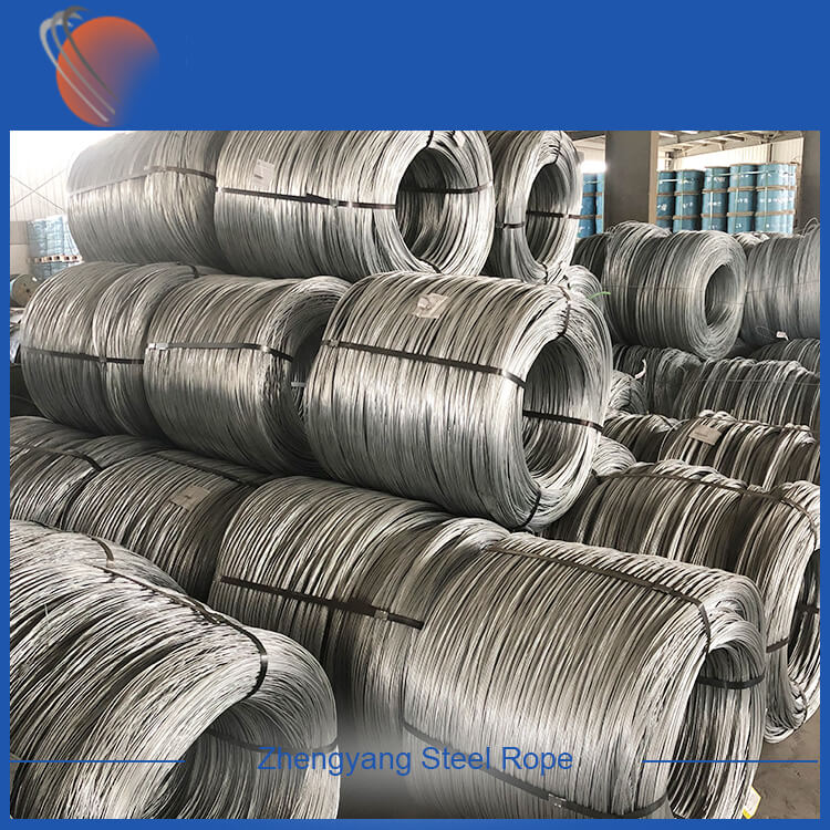 Hot Dip Galvanized Steel Wire For Redrawing