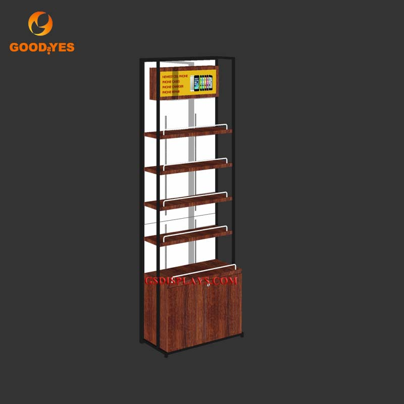 Cell Phone Store Wall Cabinet