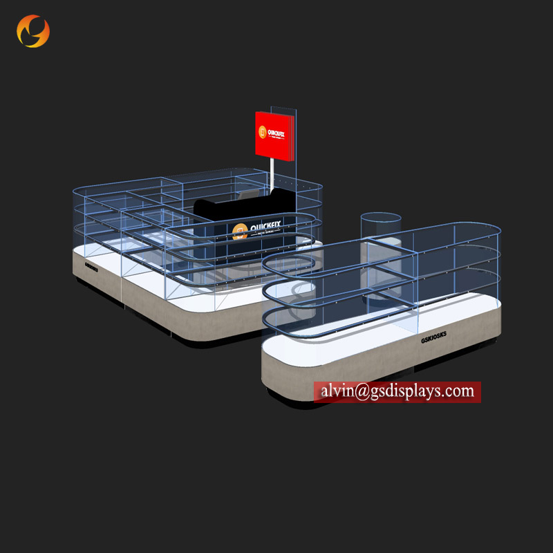 Mall Phone Covers Display Fixtures