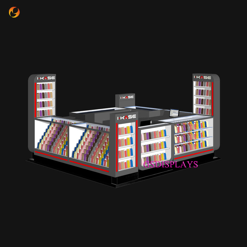 Mobile Phone Accessories Display Booth