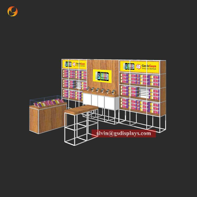 Mobile Phone Cases Store Display Equipment