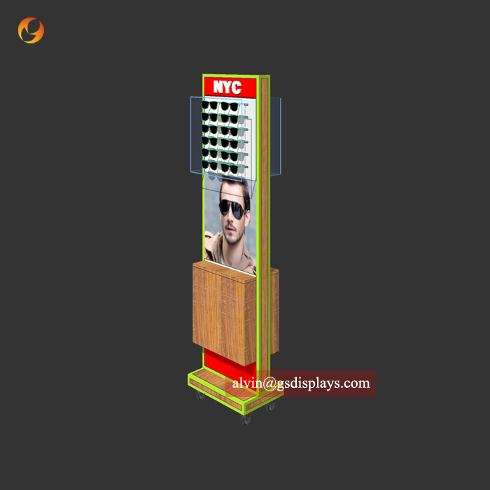 Moveable Glasses Display Stand