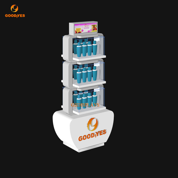 Skin Care Products Display Stand
