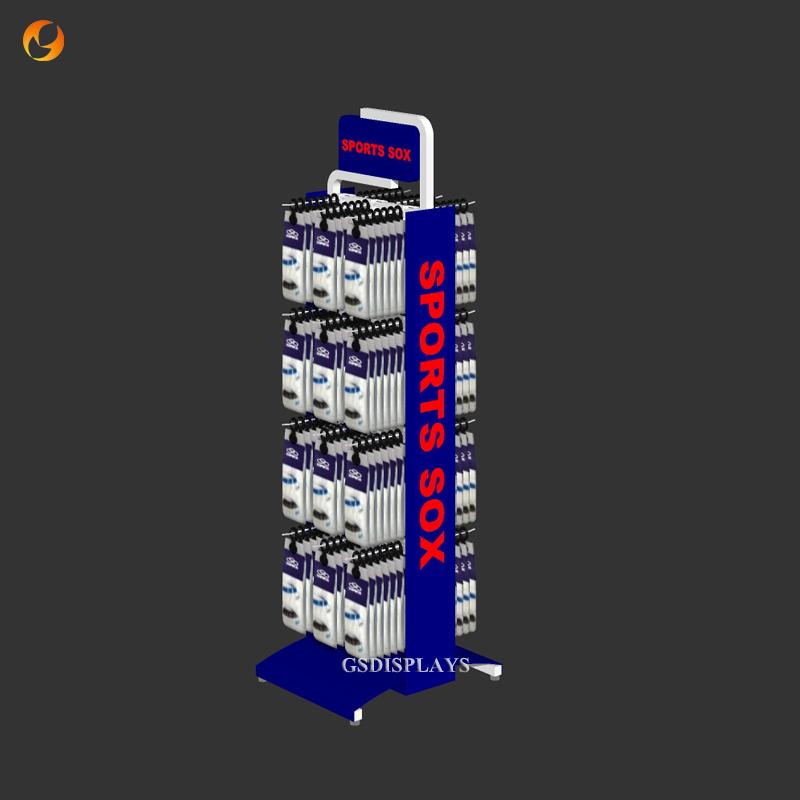 Sport Sox Display Rack