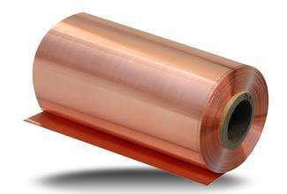 Copper foil ship to Germany