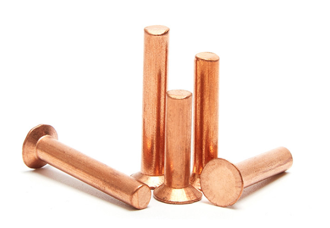 Copper rivets ship to Indonesia