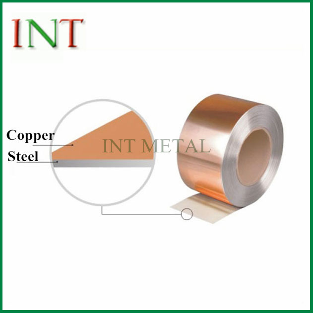 Tembaga Clad Steel Strip