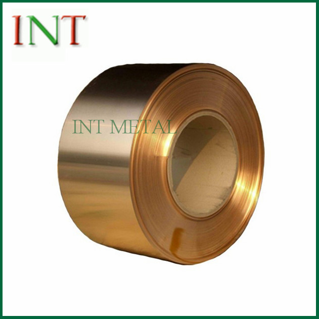 CuBe2 Beryllium Copper Strip