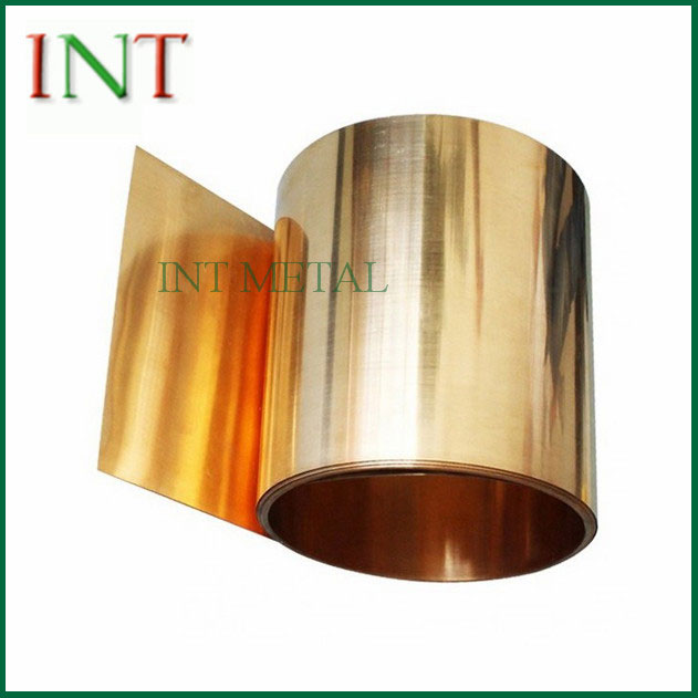 CuSn6 Phosphor Bronze Strip