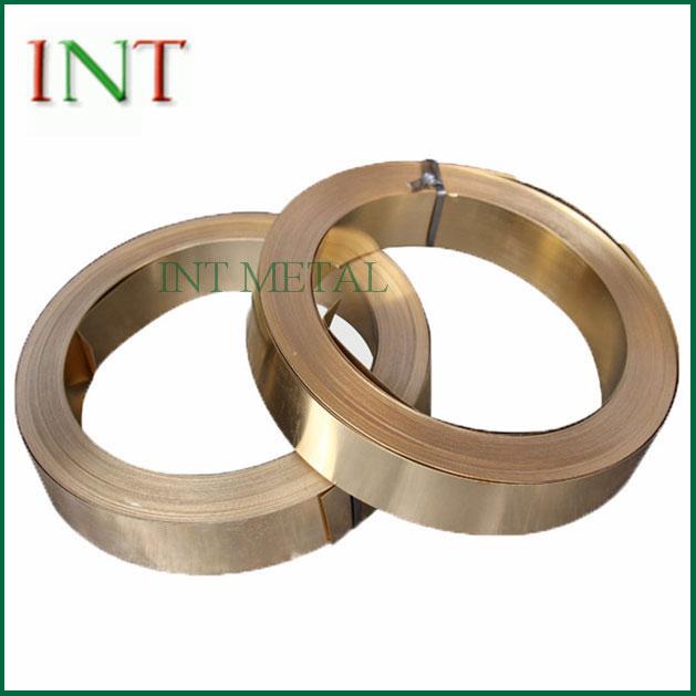 CuSn8 Phosphor bronz szalag