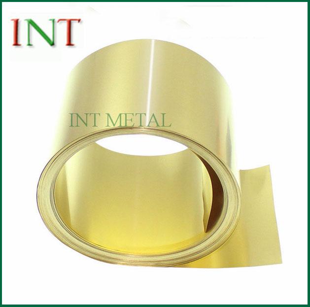 H62 Brass Strip Roll
