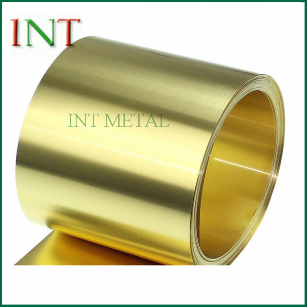 H63 Brass Strip Coil