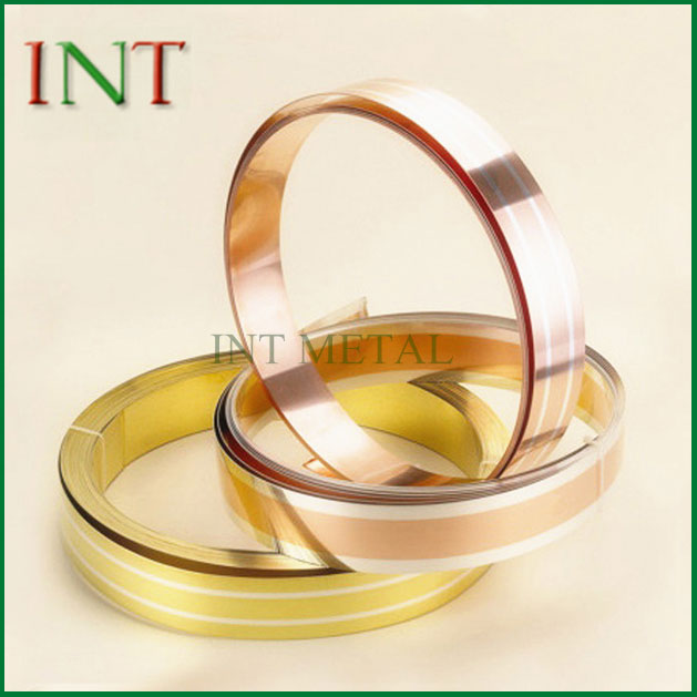 Perak Clad Brass Strip